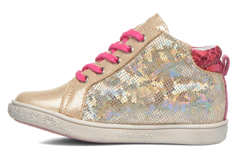 Sneaker Babybotte Adrenaline gold/bronze ansicht von vorne