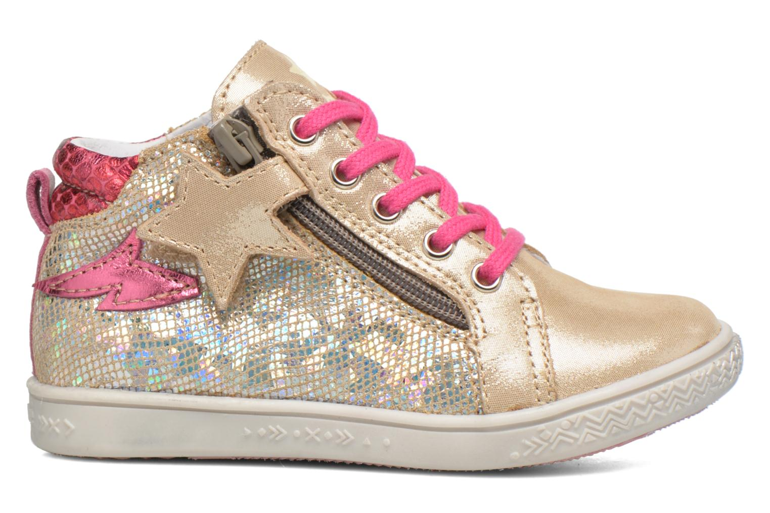 Trainers Babybotte Adrenaline Bronze and Gold back view