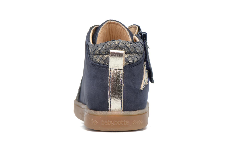 Sneaker Babybotte Adrenaline blau ansicht von rechts