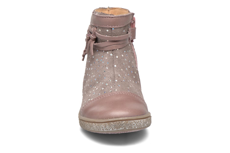 Bottines et boots Babybotte Ambalaba Rose vue portées chaussures