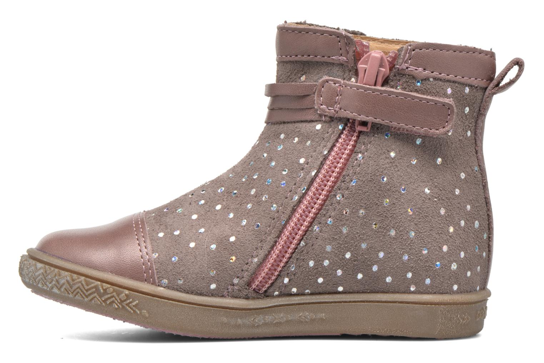 Bottines et boots Babybotte Ambalaba Rose vue face