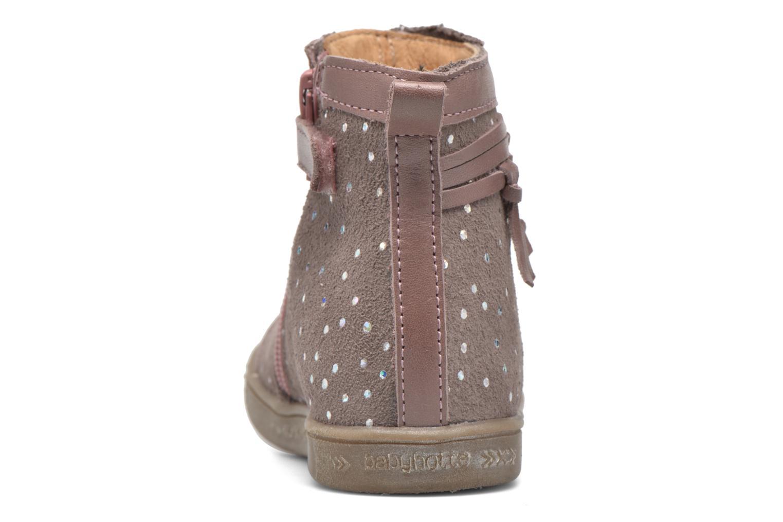 Bottines et boots Babybotte Ambalaba Rose vue droite