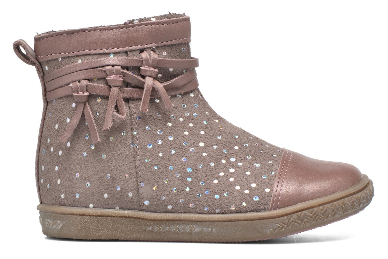 Bottines et boots Babybotte Ambalaba Rose vue derrière