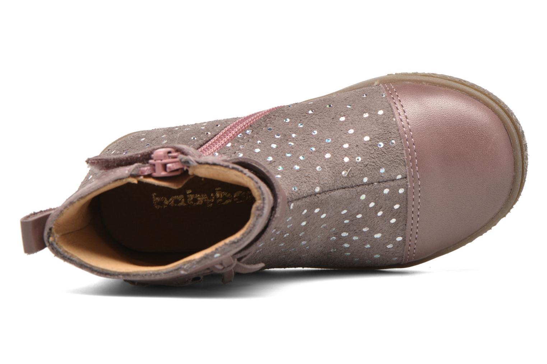 Bottines et boots Babybotte Ambalaba Rose vue gauche