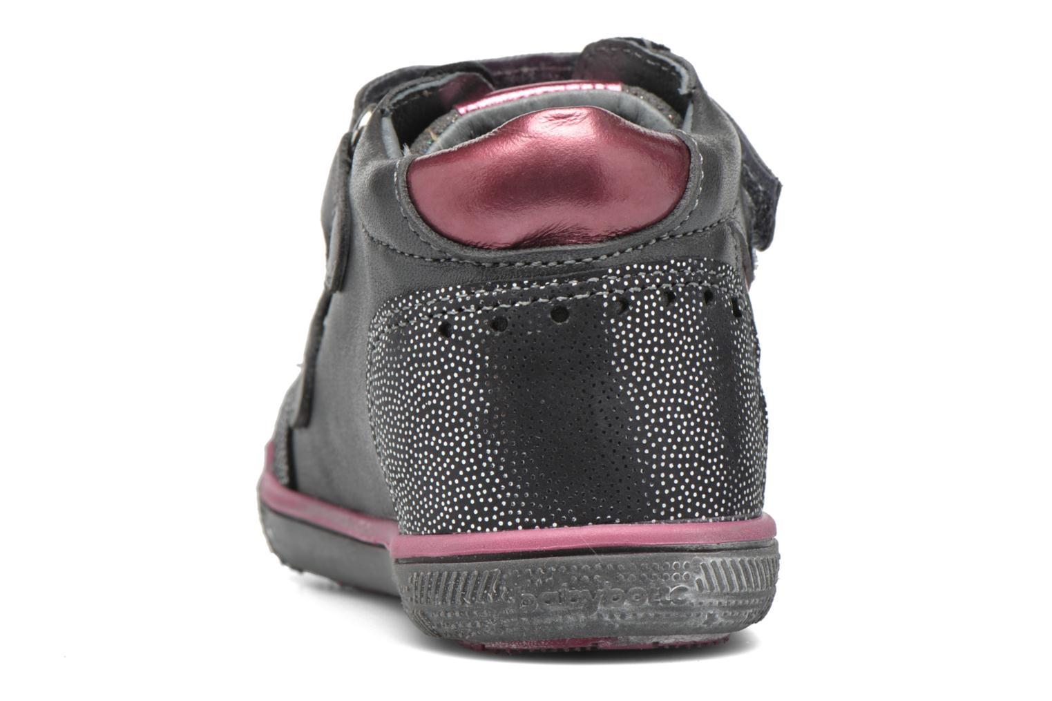 Trainers Babybotte Avenir Grey view from the right