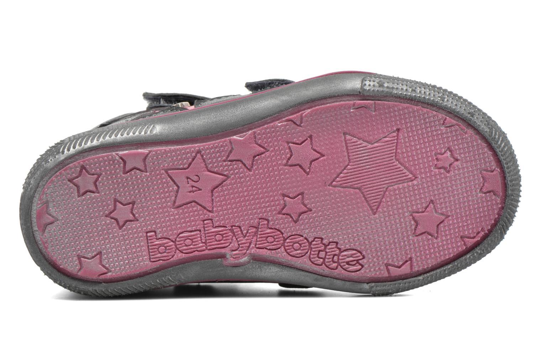 Sneaker Babybotte Avenir grau ansicht von oben
