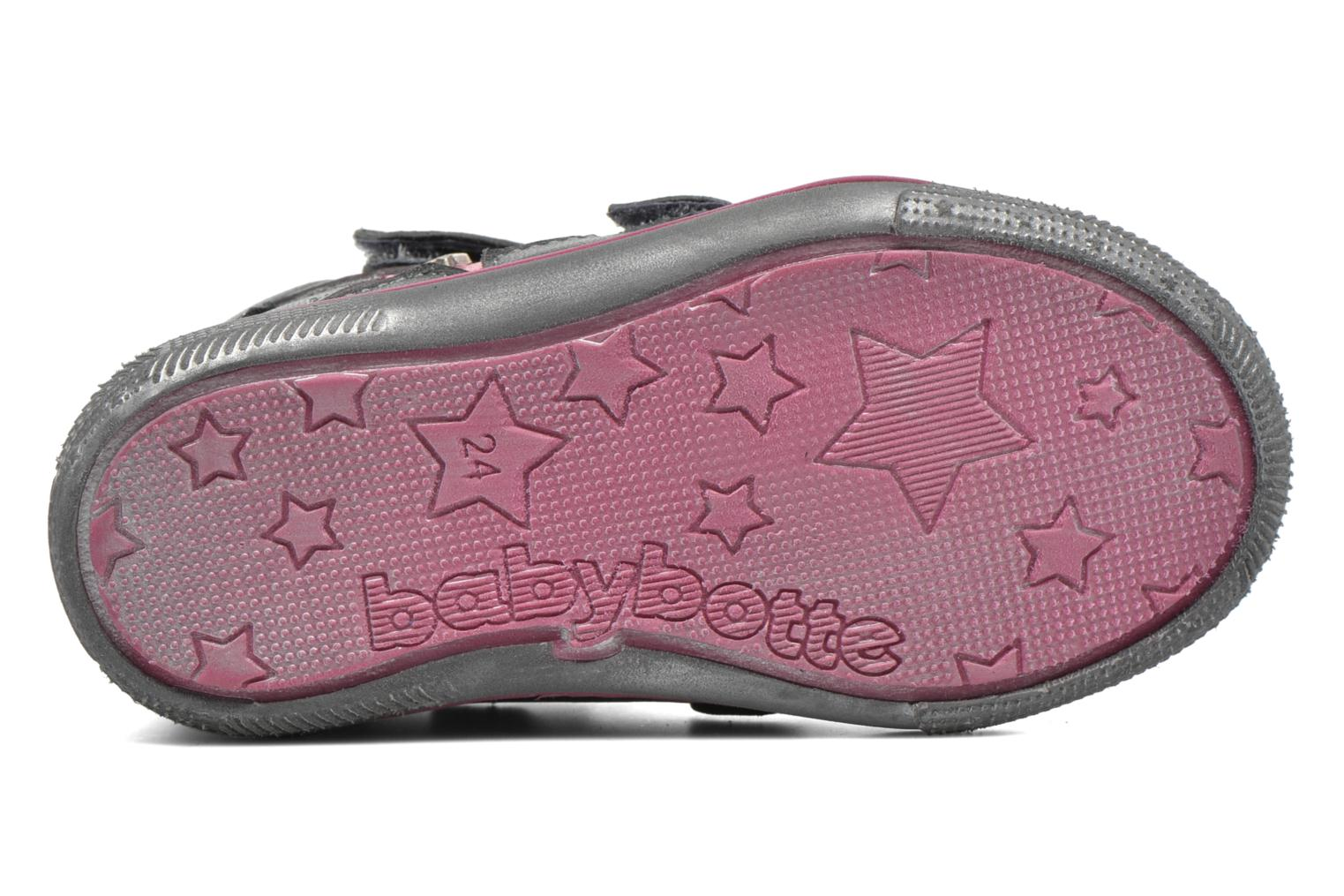 Trainers Babybotte Avenir Grey view from above