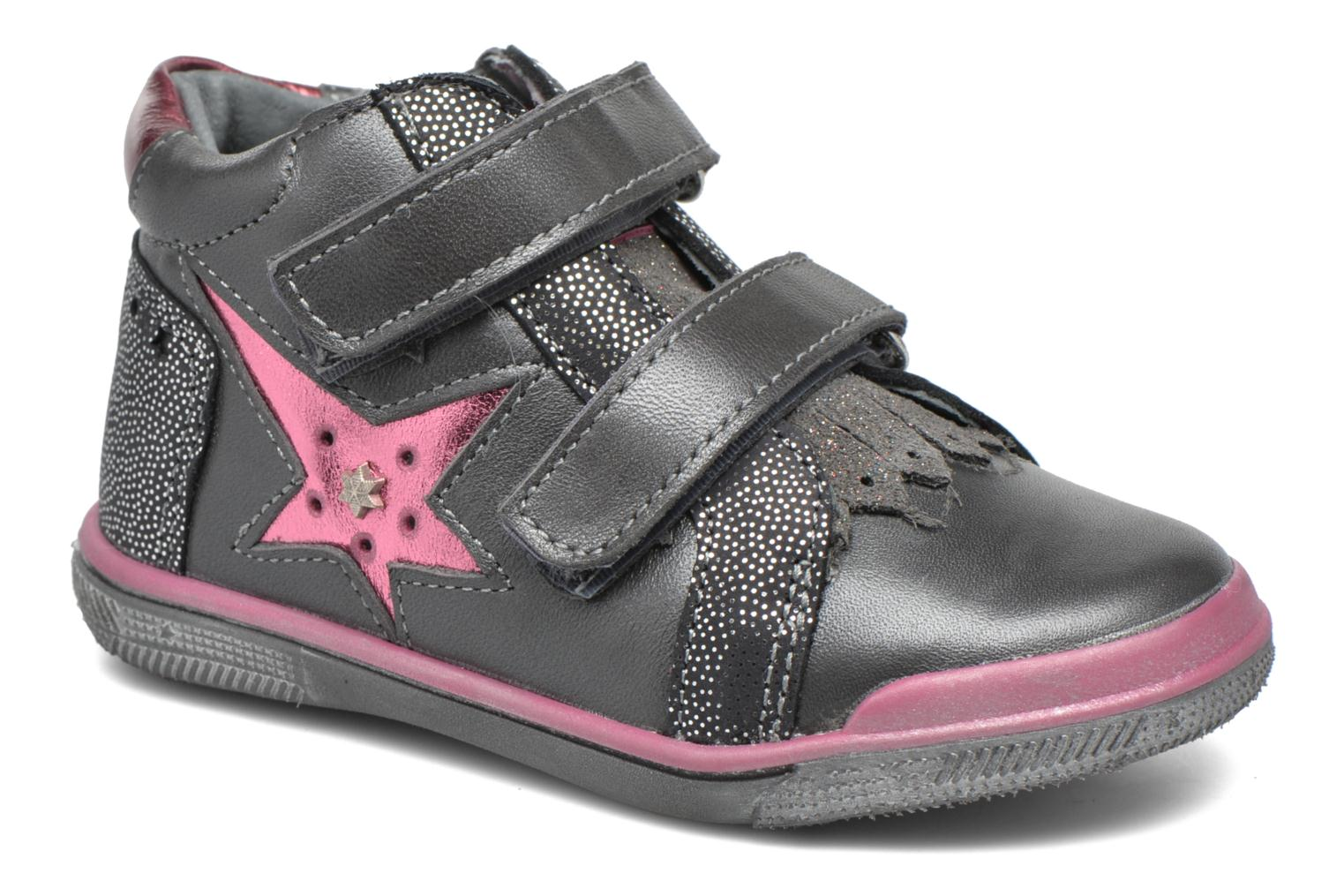 Trainers Babybotte Avenir Grey detailed view/ Pair view