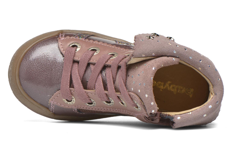 Sneaker Babybotte Artistar rosa ansicht von links