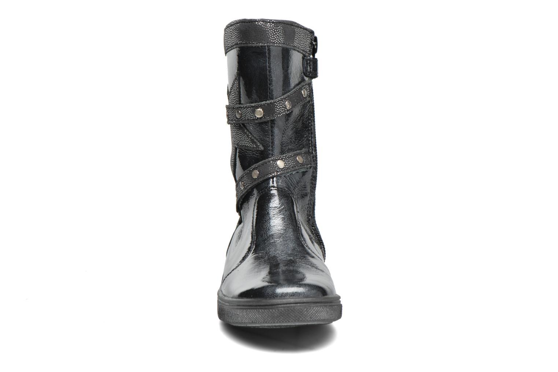 Stiefel Babybotte Kermess grau schuhe getragen