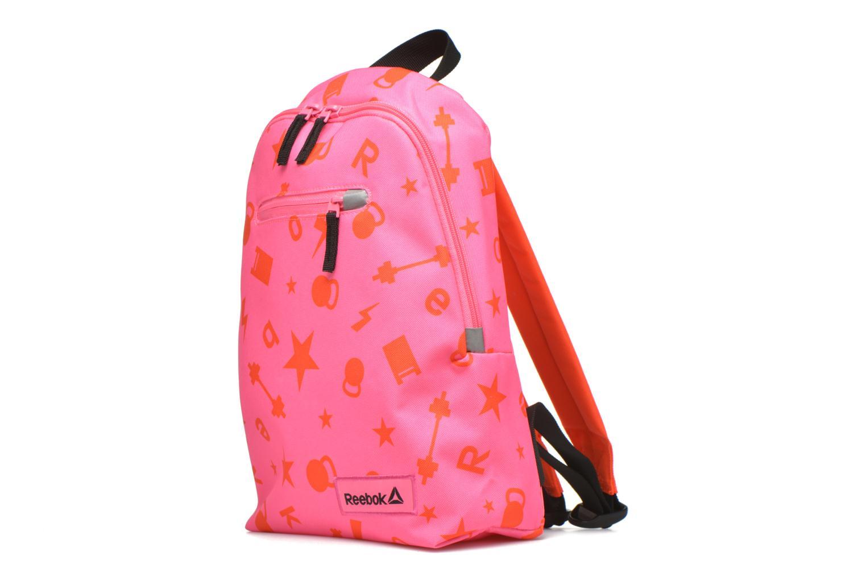 Rucksäcke Reebok KIDS U BTS GRAPH PB rosa schuhe getragen