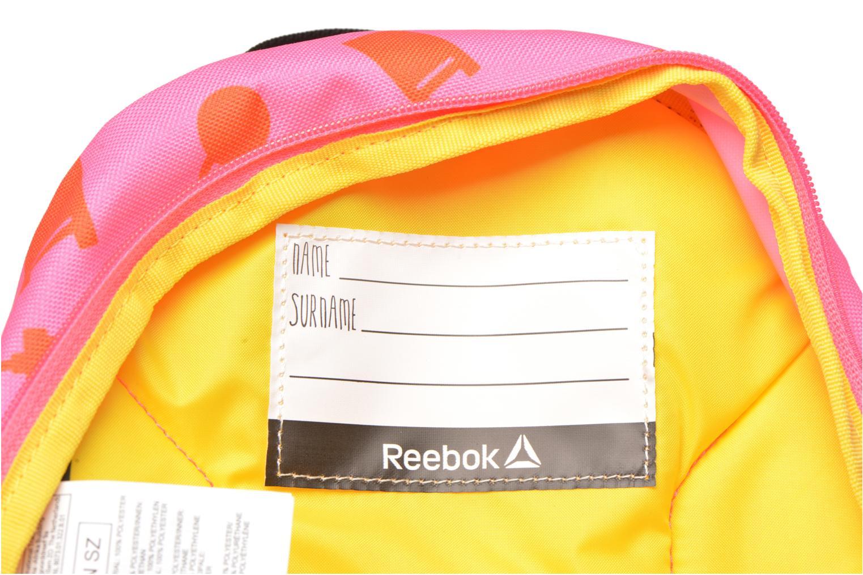 Rucksäcke Reebok KIDS U BTS GRAPH PB rosa ansicht von hinten