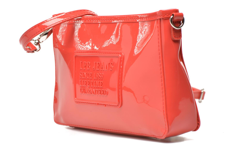 Mini Bags Les P'tites Bombes Pochette Verni rot schuhe getragen