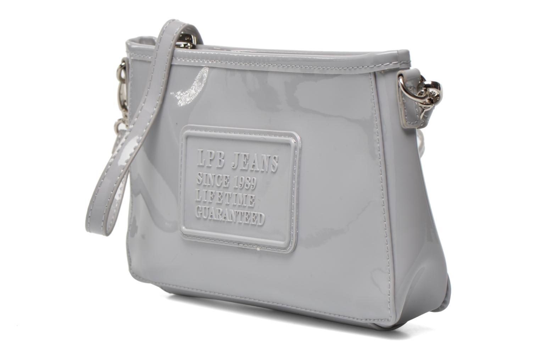 Mini Bags Les P'tites Bombes Pochette Verni grau schuhe getragen