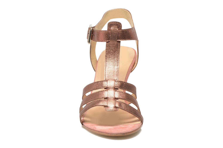 Sandales et nu-pieds Jonak Deuca Rose vue portées chaussures
