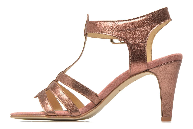 Sandales et nu-pieds Jonak Deuca Rose vue face