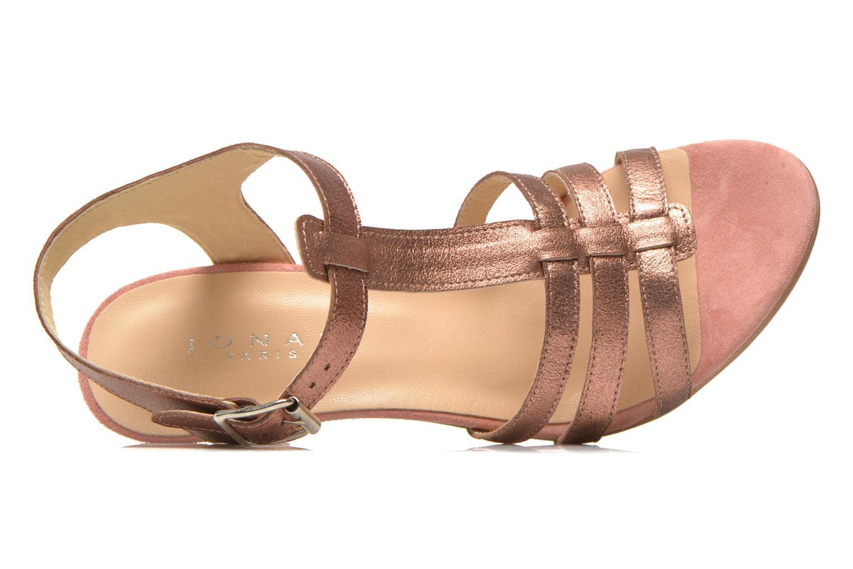 Sandales et nu-pieds Jonak Deuca Rose vue gauche