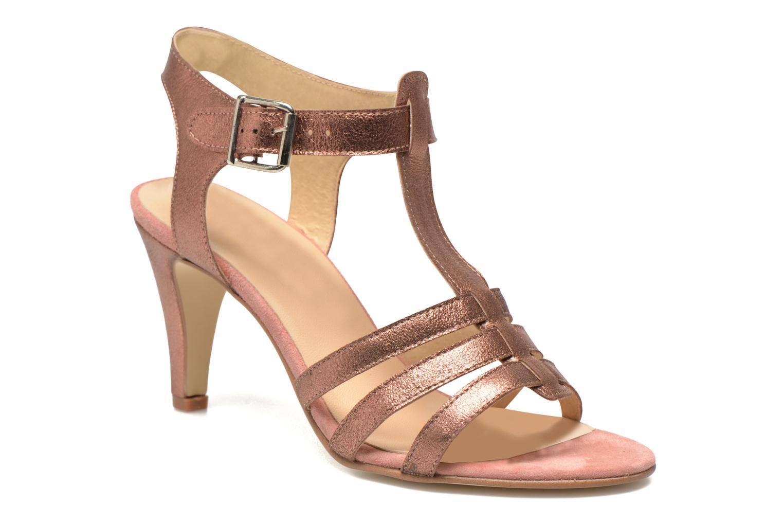 Sandales et nu-pieds Jonak Deuca Rose vue détail/paire