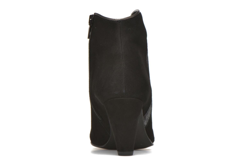 Bottines et boots Georgia Rose Lolok Noir vue droite