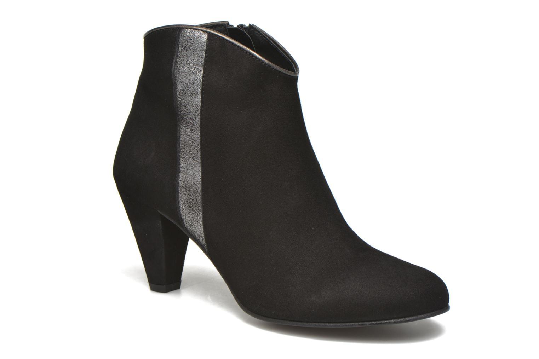 Bottines et boots Georgia Rose Lolok Noir vue détail/paire