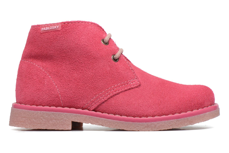 Chaussures à lacets Pablosky Camila Rose vue derrière