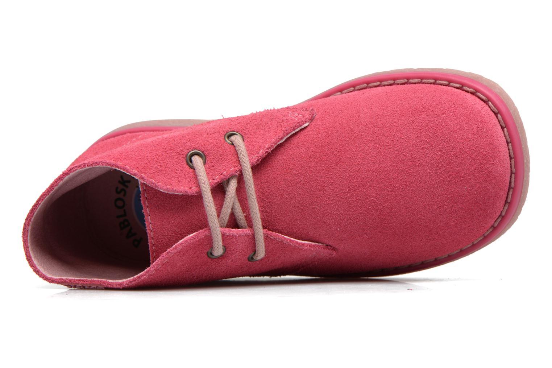 Chaussures à lacets Pablosky Camila Rose vue gauche