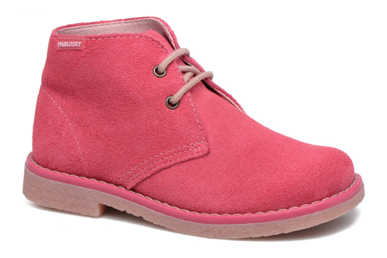 Chaussures à lacets Pablosky Camila Rose vue détail/paire