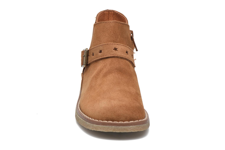 Bottines et boots Pablosky Lucia Marron vue portées chaussures