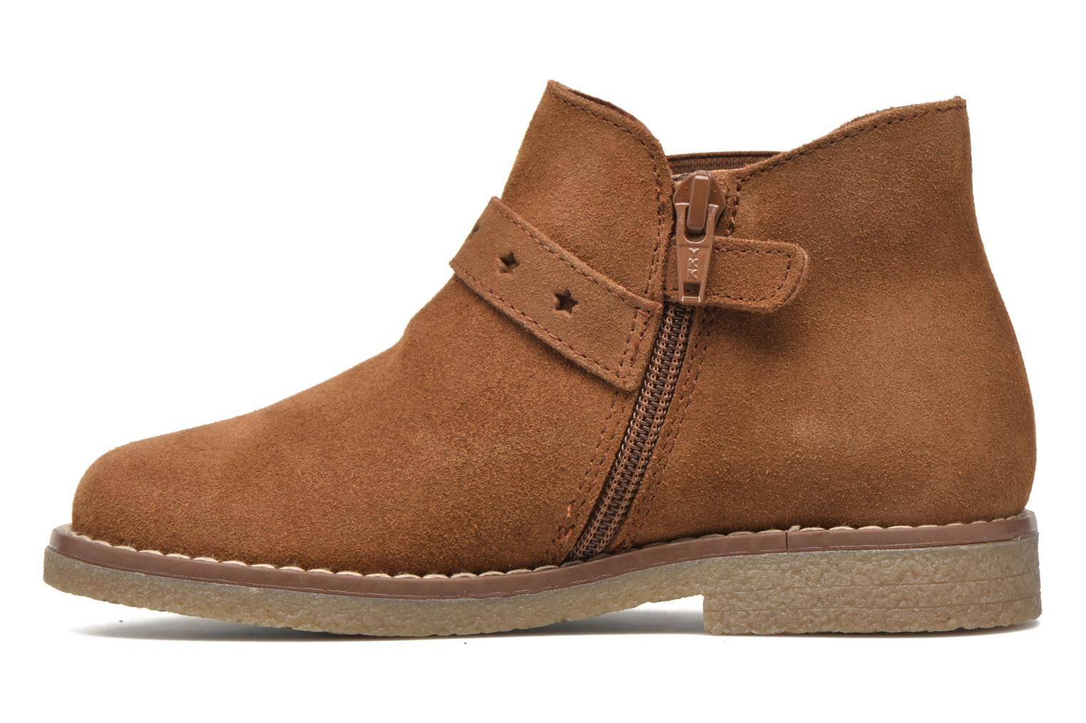Ankle boots Pablosky Lucia Brown front view