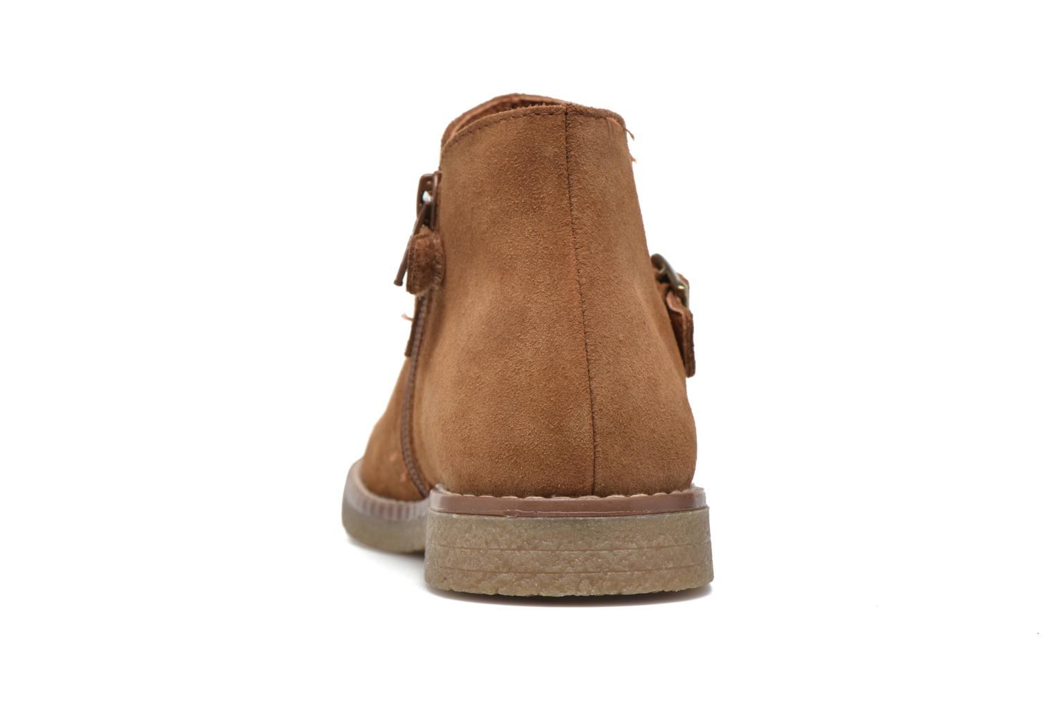 Ankle boots Pablosky Lucia Brown view from the right