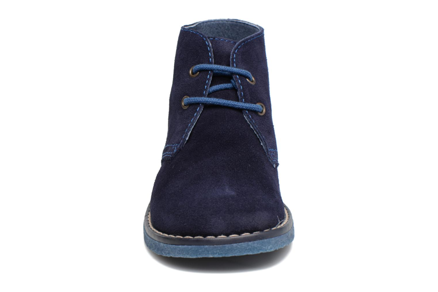 Lace-up shoes Pablosky Camilo Blue model view