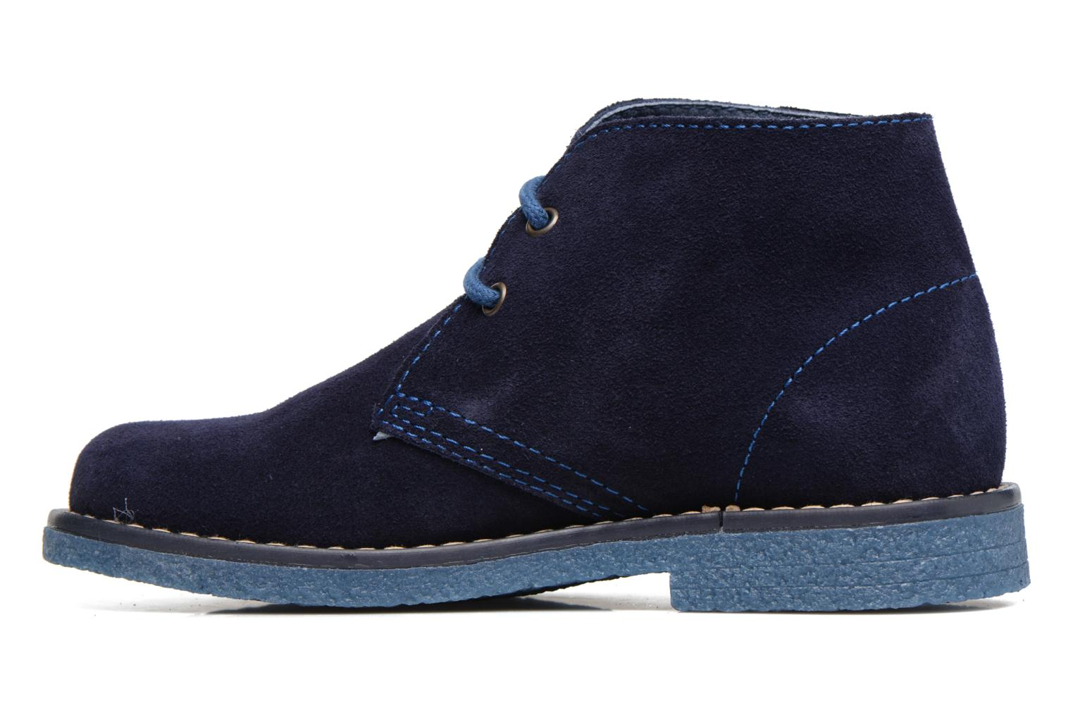 Lace-up shoes Pablosky Camilo Blue front view