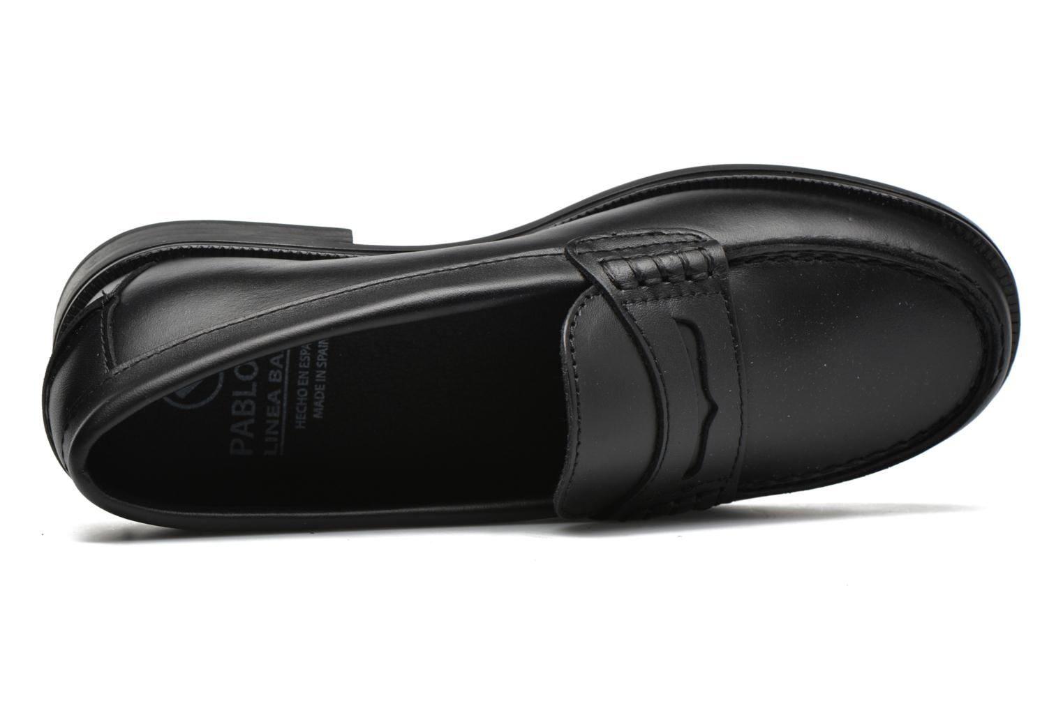 Loafers Pablosky Felipe Black view from the left