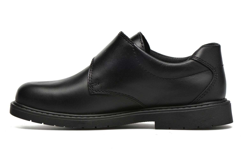 Zapatos con velcro Pablosky Gonzalo Negro vista de frente