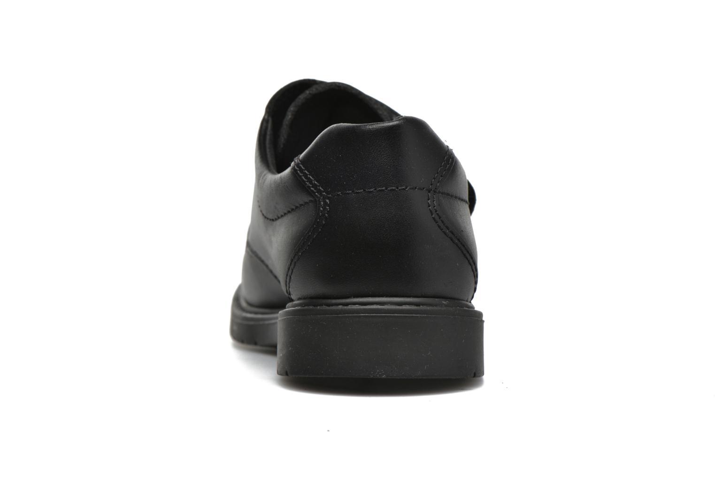 Zapatos con velcro Pablosky Gonzalo Negro vista lateral derecha