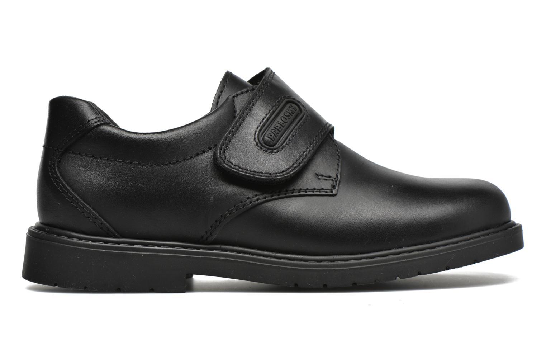 Zapatos con velcro Pablosky Gonzalo Negro vistra trasera
