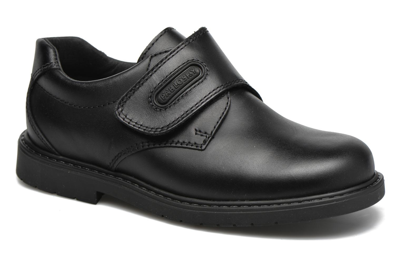 Zapatos con velcro Pablosky Gonzalo Negro vista de detalle / par