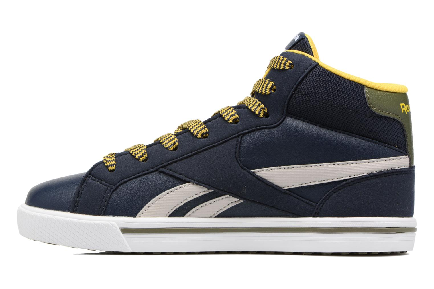 Reebok Royal Comp 2Ms Collegiate Navy/Sand Stone/Yellow/Green