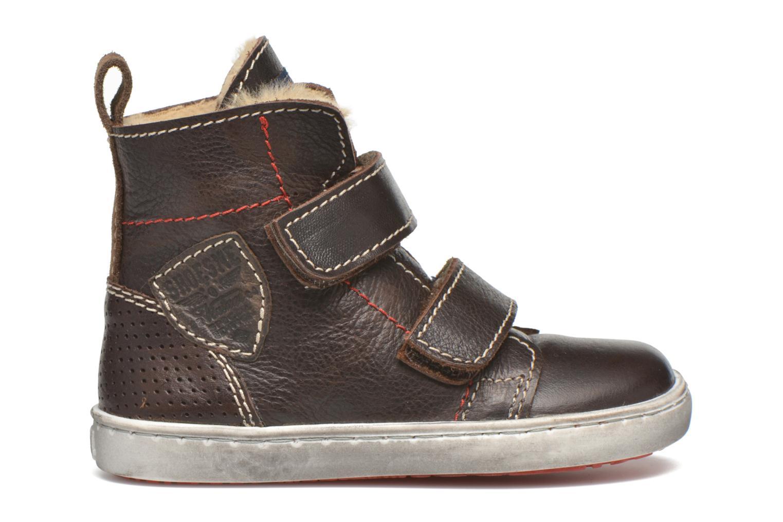 Chaussures à scratch Shoesme Sofian Marron vue derrière