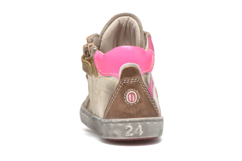 Sneaker Shoesme Samia rosa ansicht von rechts