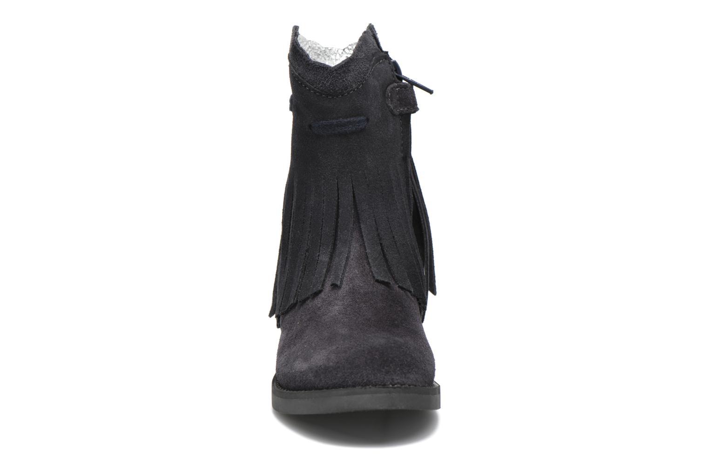 Bottes Shoesme Serena Noir vue portées chaussures