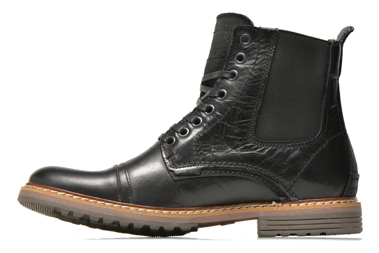 Bottines et boots Bullboxer Jensen Noir vue face