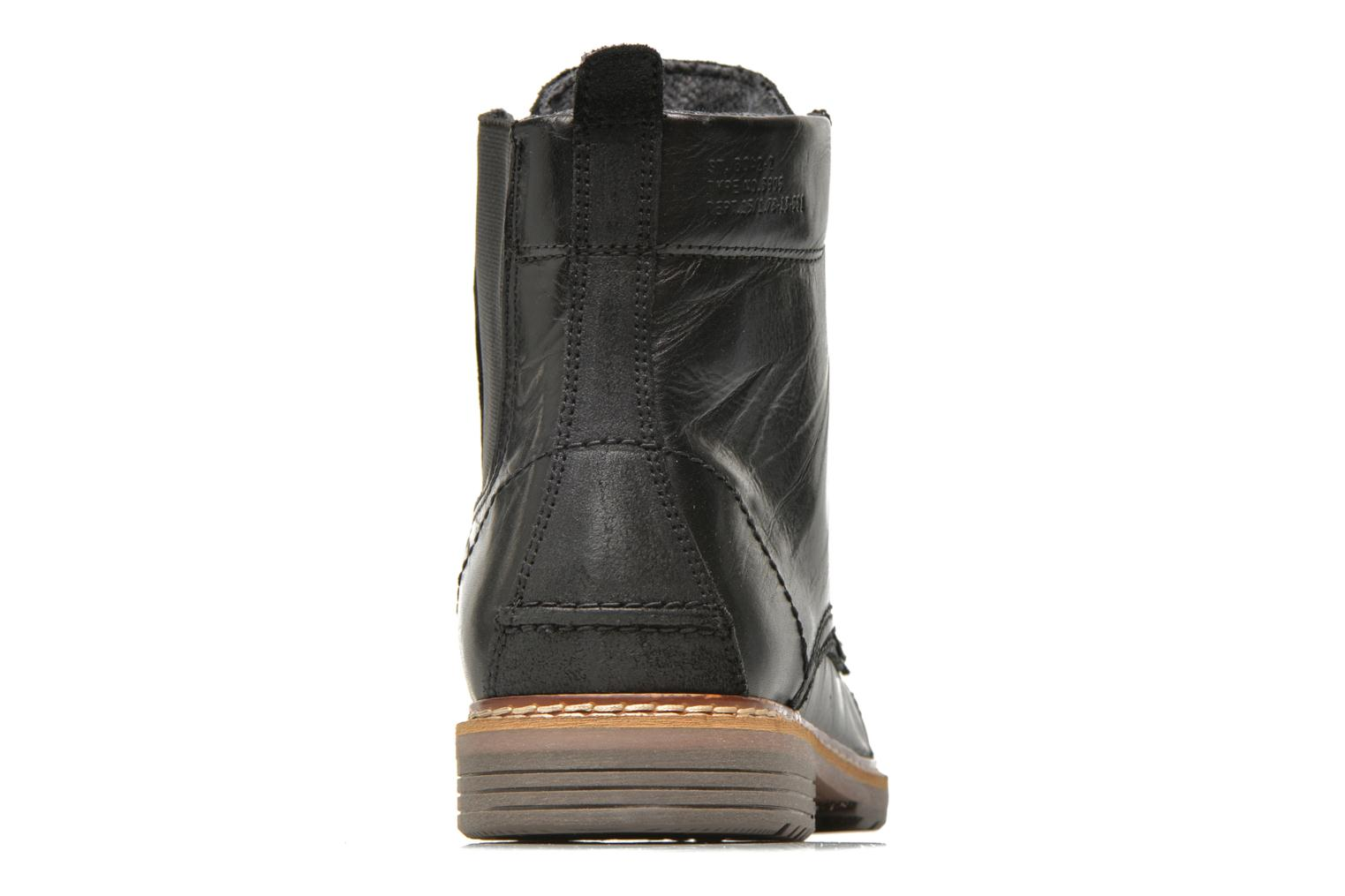 Ankle boots Bullboxer Jensen Black view from the right