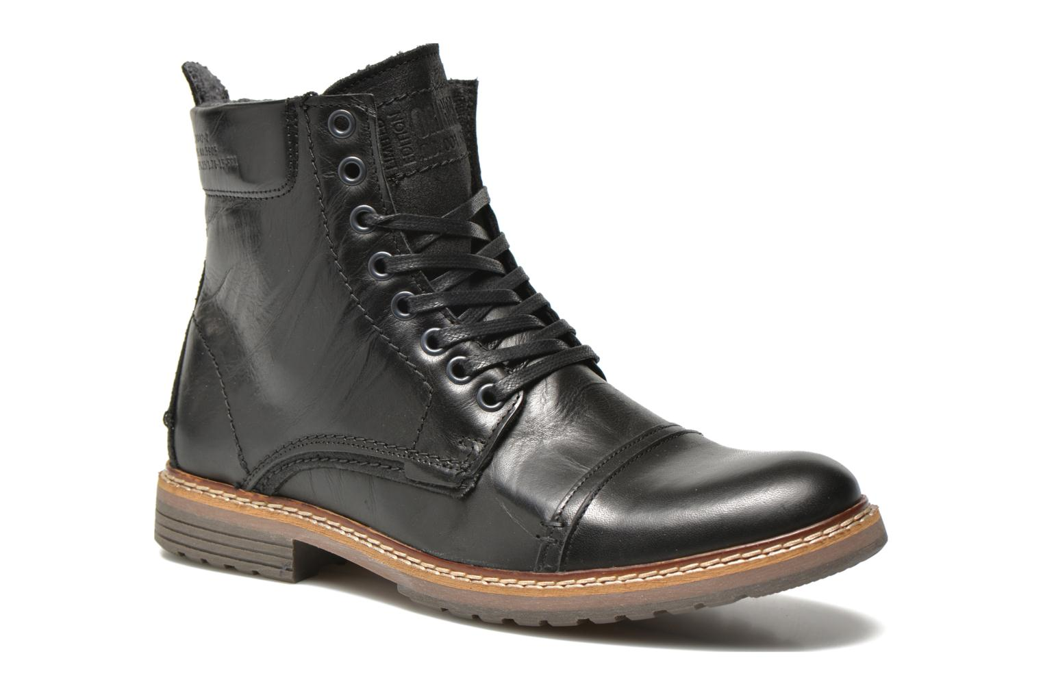 Ankle boots Bullboxer Jensen Black detailed view/ Pair view