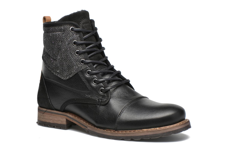 Bottines et boots Bullboxer Samuel Noir vue détail/paire