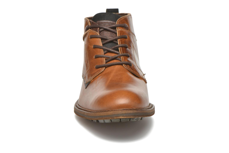 Chaussures à lacets Bullboxer Eddie Marron vue portées chaussures