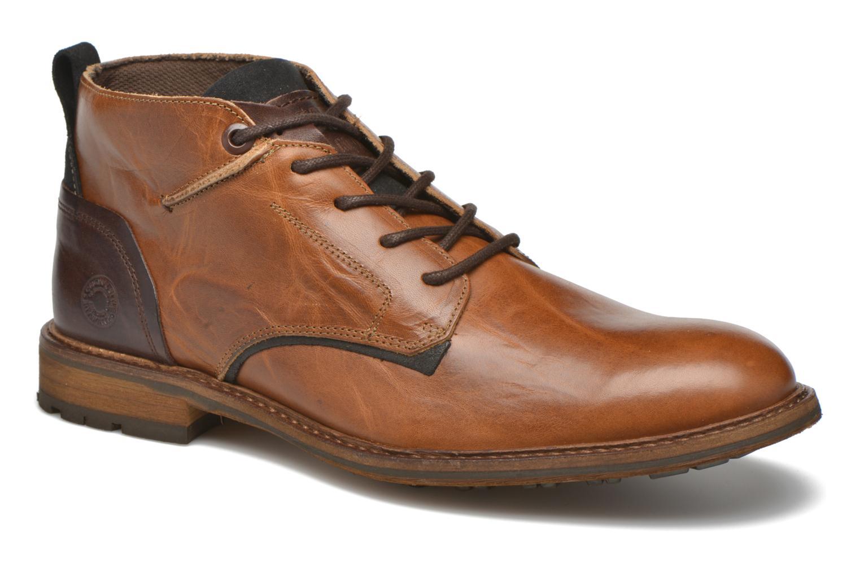 Bullboxer Eddie (Marron) - Chaussures à lacets chez Sarenza (262501)