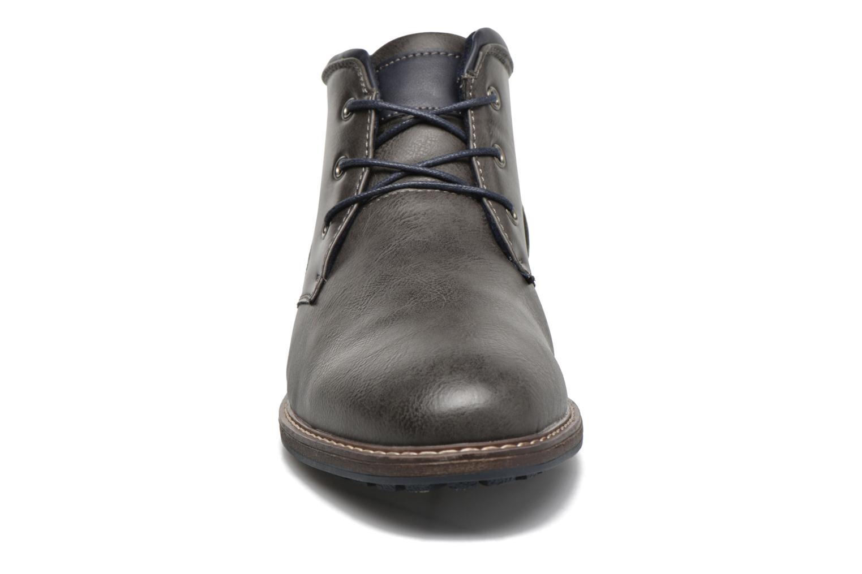 Schnürschuhe I Love Shoes SUTILLON grau schuhe getragen