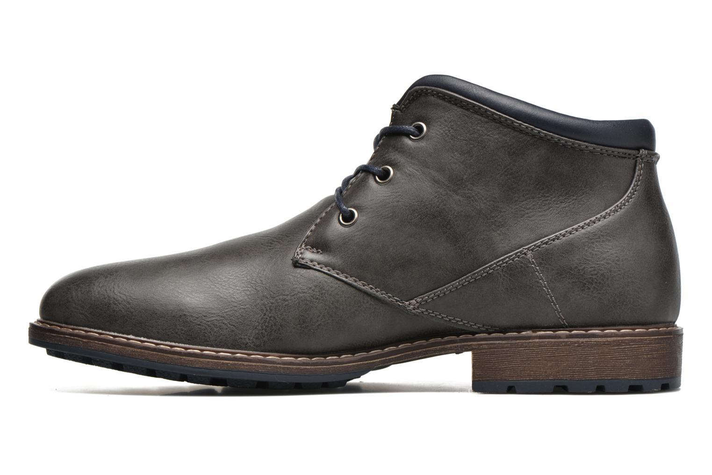Schnürschuhe I Love Shoes SUTILLON grau ansicht von vorne