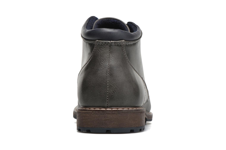 Schnürschuhe I Love Shoes SUTILLON grau ansicht von rechts